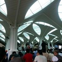 Photo taken at Masjid Asy-Syakirin by Fakhri Zaim R. on 12/7/2012