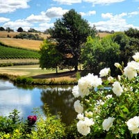 Photo taken at Josef Chromy Winery and Cafe by Cathryn G. Gibson on 7/11/2013
