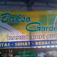 Photo taken at Bakso Green Garden by Steven L. on 1/27/2013