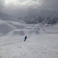 Photo taken at Xperia Ischgl Snowpark by Mischka M. on 2/2/2014