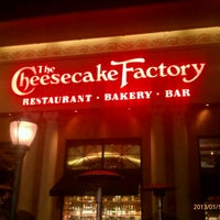 Photo taken at The Cheesecake Factory by Mitch S. on 1/19/2013