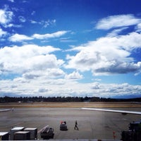 Photo taken at Gate B7 by Nastya S. on 6/28/2014