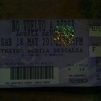 Photo taken at Teatro Aguila Descalza by Bairon German P. on 5/19/2013