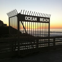 Photo taken at Ocean Beach Pier by Abby S. on 11/6/2012