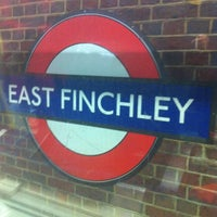 Photo taken at East Finchley London Underground Station by Amy C. on 10/22/2012