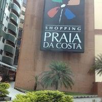 Photo taken at Shopping Praia da Costa by Marilea J. on 3/30/2013