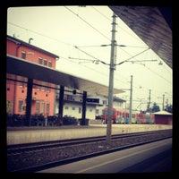 Photo taken at Klagenfurt Hauptbahnhof by Stephanie M. on 11/23/2012