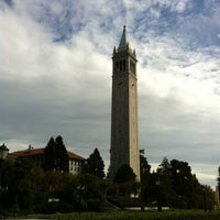 Photo taken at Campanile (Sather Tower) by A M. on 10/21/2012