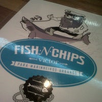 Photo taken at Victor Fish 'n' Chips by Aleexia P. on 1/3/2013