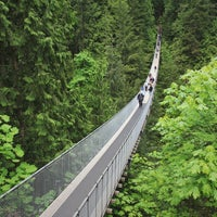 Photo taken at Capilano Suspension Bridge by Maurice on 5/19/2013