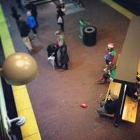 Photo taken at MBTA Davis Square Station by Pete K. on 12/16/2012