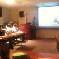 Photo taken at James L. Knight School of Communication by Lelia K. on 12/12/2012