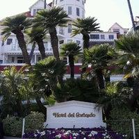 Photo taken at Hotel del Coronado by Charmaine D. on 5/2/2013