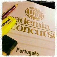 Foto tomada en Academia do Concurso por Camila P. el 10/17/2012