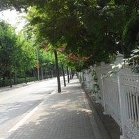 Photo taken at 청담중학교 by Sejin S. on 5/9/2015