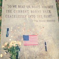 Photo taken at F. Scott Fitzgerald's Grave by Xuan V. on 6/30/2013