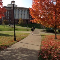 Photo taken at William T. Young Library by Benjamin K. on 10/19/2012