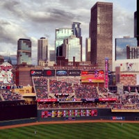Photo taken at Target Field by John F. on 5/31/2013