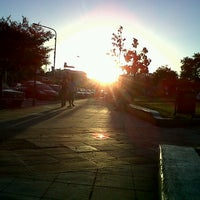 Photo taken at Plaza 20 de Febrero (Plaza de Ituzaingó) by Georgina V. on 12/25/2012