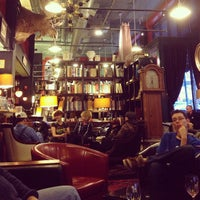 Photo taken at Battery Park Book Exchange And Champagne Bar by Elizabeth S. on 2/2/2013