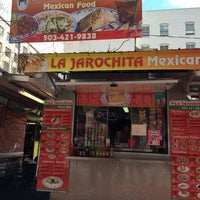 Photo taken at La Jarochita Mexican by littleneek on 4/2/2014