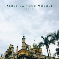 Photo taken at Abdul Gaffoor Mosque by Hanis B. on 5/18/2015