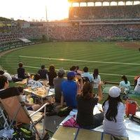 Photo taken at Incheon Munhak Stadium by Action on 6/27/2016