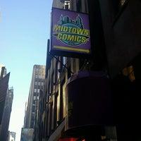 Photo taken at Midtown Comics by Matthew W. on 5/4/2013