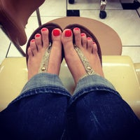 Photo taken at T&Y Nails by Lindsey G. on 3/9/2013