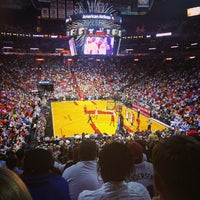 Photo taken at American Airlines Arena by Carlos O. on 11/13/2013