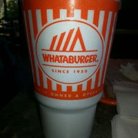 Photo taken at Whataburger by Jena M. on 10/10/2013