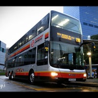 Photo taken at SMRT Buses: Bus 190 by 陳杰倫 (. on 11/5/2014