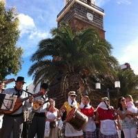 Photo taken at Mercadilllo de Teguise by Maria M. on 10/21/2012