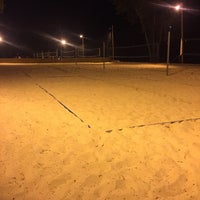 Photo taken at Whiskey Island Volleyball Courts by Jim F. on 6/11/2016