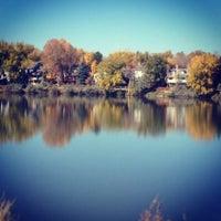 Photo taken at Pomona Lake by Mariah P. on 12/28/2013
