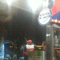 Photo taken at Petron Service Station by Paz Elaine C. on 1/12/2016