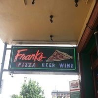 Photo taken at Frank's Pizza by Marcus on 7/21/2013