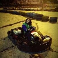 Photo taken at Speedy Karting by Deandra N. on 2/7/2013