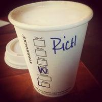 Photo taken at Starbucks by Rich K. on 10/15/2012