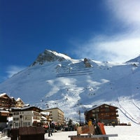 Photo taken at Tignes by Светлана П. on 1/6/2013