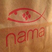 Photo taken at Nama Sushi Bar by Alyssa H. on 10/24/2012
