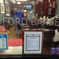 Photo taken at Bedford Barbers by Shesh P. on 7/3/2013