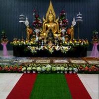 Photo taken at Indonesia Theravada Buddhist Centre (ITBC) by Wesley Z. on 5/22/2016