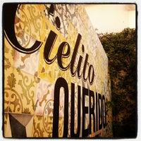 Photo taken at Cielito Querido Café by Isaac M. on 10/25/2012