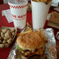 Photo taken at Five Guys by Pete L. on 1/13/2013