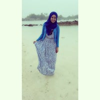 Photo taken at Pantai Ujung Genteng by Diah Ayu N. on 12/22/2013