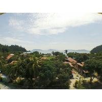 Photo taken at Teluk Dalam Beach Resort by Sra A. on 5/24/2014