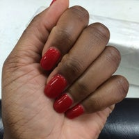 Photo taken at Pure Nail Salon by The Flight G. on 3/13/2014