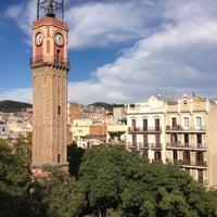 Photo taken at Plaça de la Vila de Gràcia by Arnau L. on 11/10/2012