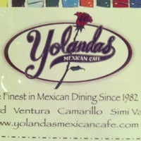 Photo taken at Yolanda's Mexican Cafe by David S. on 11/10/2012